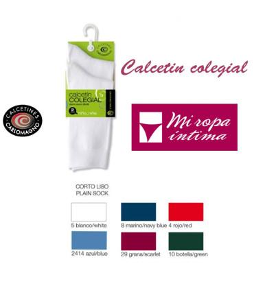 Pack-2 Calcetínes Colegiales Carlomagno ref. 523