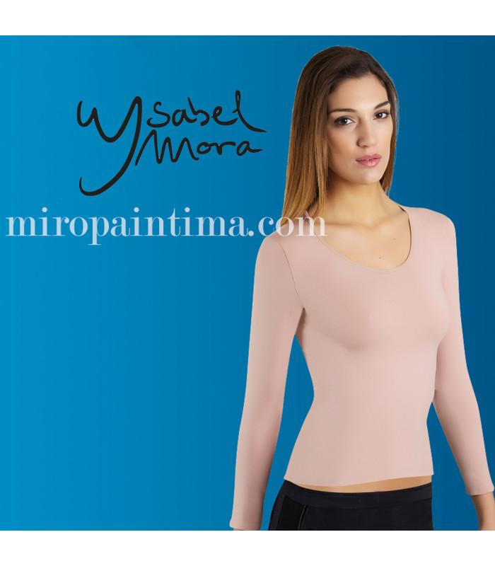 Microfibra sin costuras Camiseta interior Ysabel Mora ref: 19106