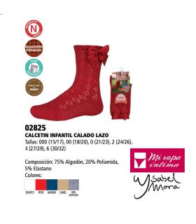 Calcetín Lazo Ysabel Mora 02825