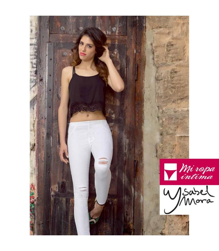 Legginig Jeans Desgastados y Desgarrados Ysabel Mora 70213