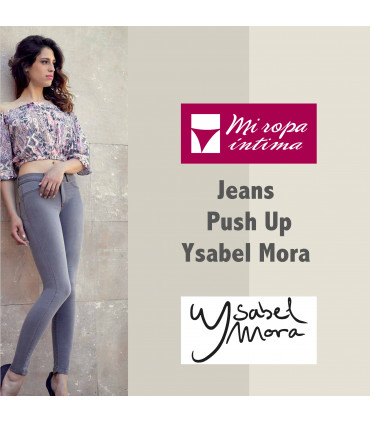JEANS PUSH-UP Ysabel Mora ref. 70214