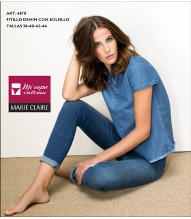 PITILLO DENIM CON BOLSILLO Marie Claire art. 4870