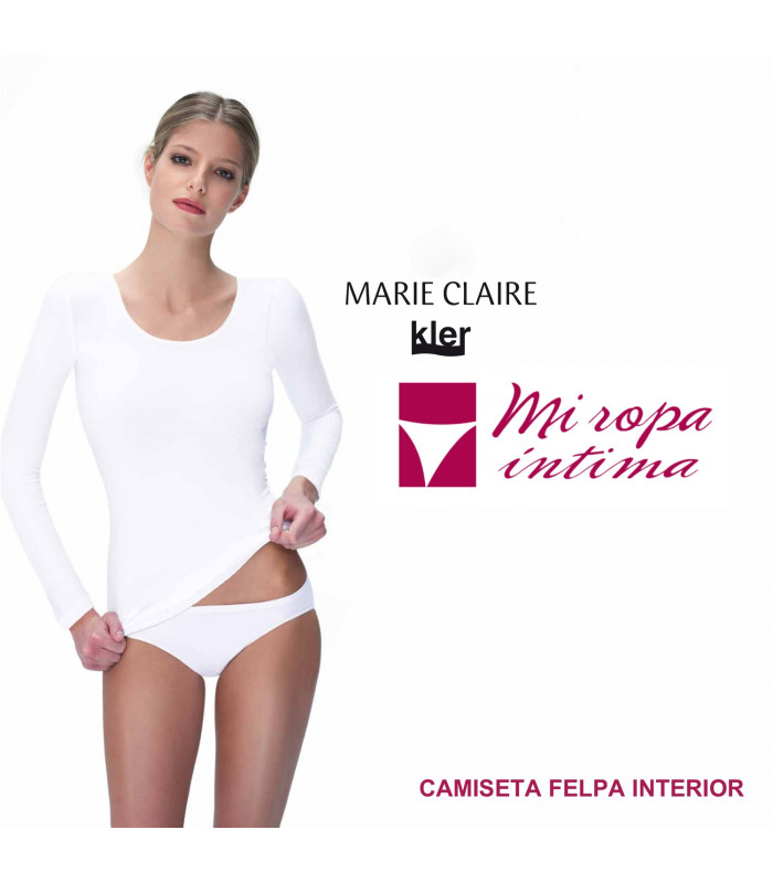 Camiseta POLAR INNOVATION Marie claire con Felpa interior ref.51341