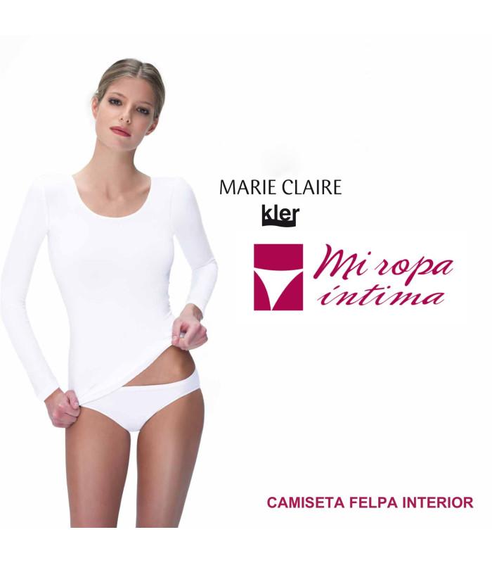 Camiseta POLAR INNOVATION Marie claire con Felpa interior ref.51341