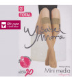 Mini Media Relajante Pack-2Pares Ysabel Mora linea activa 20 ref.15122