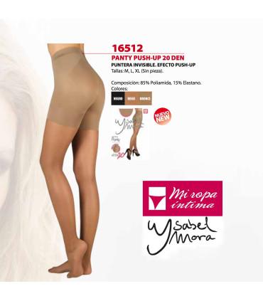 Panty PUSH UP Relajante y puntera invisible 20DEN 16512
