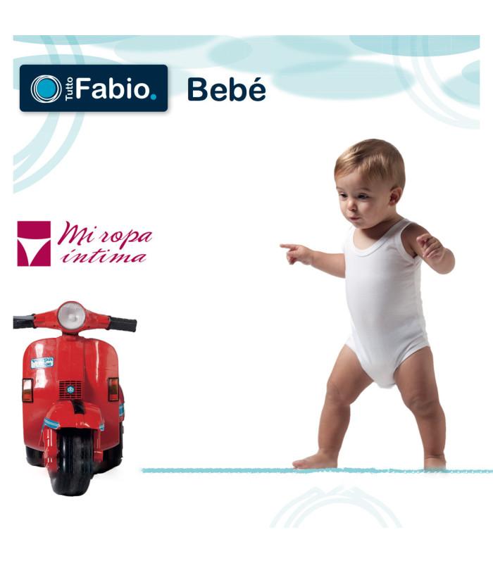 Body bebe Tirante Liso Algodón Ref. 8127 Fabio