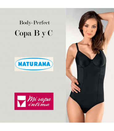 PERFECT BODY SHAPEWEAR COPA B y C Naturana cod. 03260