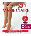 TOBILLERO DE MARIE CLAIRE DE ESPUMA 17DEN -2 PARES 2113