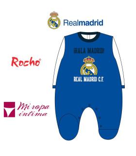 Pelele de Bebe Tondosado Real Madrid Producto Oficial ROCHO RM 103