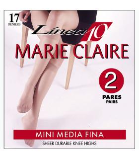 Mini Medias Marie Claire 2110 Calcetín de Espuma pack-2 pares cod. 02110 17DEN