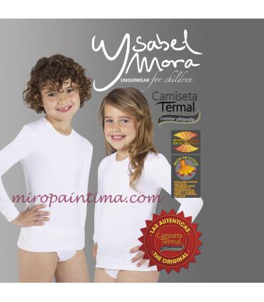 Camisetas termicas unisex infantiles unisex Ysabel mora ref: 70300