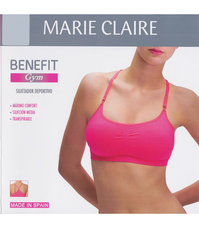 Sujetador Deportivo Benefit by Marie Claire 53205