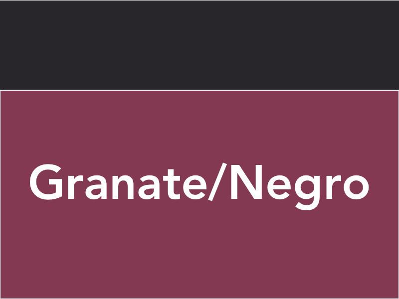 Granate / Negro