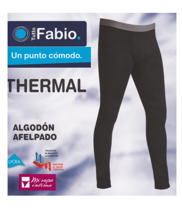 Pantalon Thermal Algodón goma vista Fabio 4881