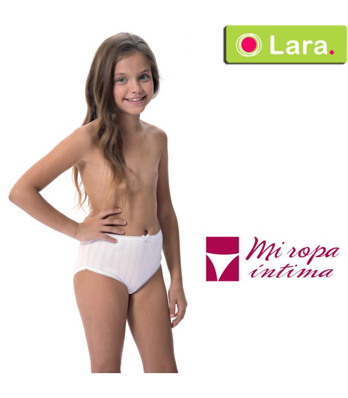 Braga niña calada trenza Algodón 3311 Lara