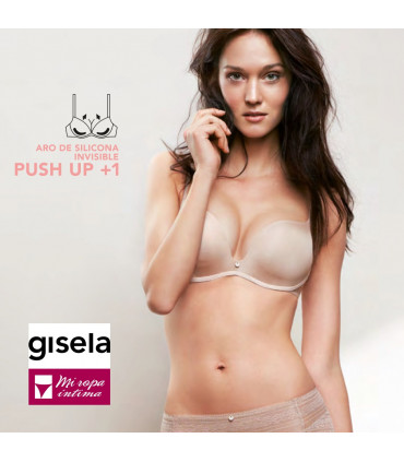 Multiposicion Push-UP copa-B aros de Silicona Gisela 1/0343