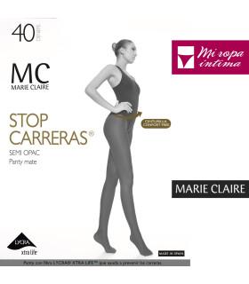 PANTY STOP CARRERAS MATE DE 40DEN Marie Claire ref. 4672