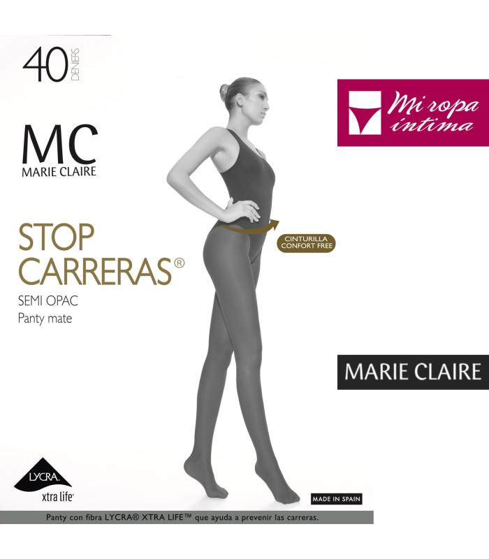 PANTY MARIE CLAIRE STOP CARRERAS DE 40DEN MATE