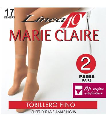 TOBILLERO DE MARIE CLAIRE DE ESPUMA 17DEN Pack-2 PARES 2113