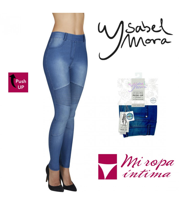 JEGGING FANTASIA PUSH-UP YSABEL MORA MOD:70238
