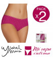PACK-2 CULOTTE FANTASIA COTTON DE YSABEL MORA Ref. 19877