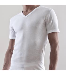 Camiseta Hombre FERRY`S Algodón 5206 camiseta interior cuello pico cod. 05206