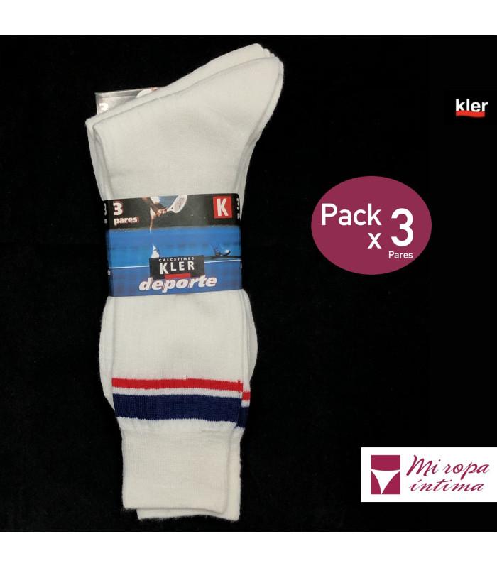 Pack 2 Calcetines de Deporte Kler Cadete ref. 8777