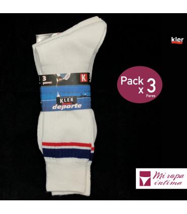 Pack 3 Calcetines de Deporte Kler Cadete ref. 8777