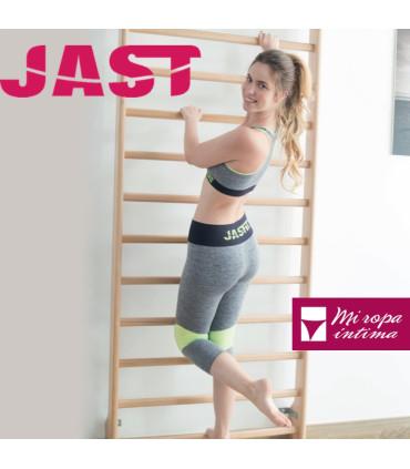 LEGGING 3/4 SIN COSTURA JASFIT ref: 604