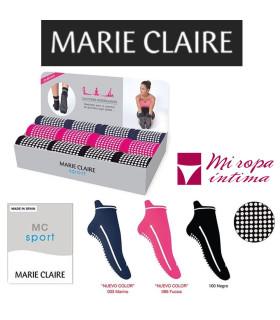 CALCETIN DE YOGA ANTIDESLIZANTE DE MARIE CLAIRE REF: 95155