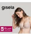 SUJETADOR PUSH-UP SIN ARO DE MOMENT CONFORT DE GISELA REF:1/0339