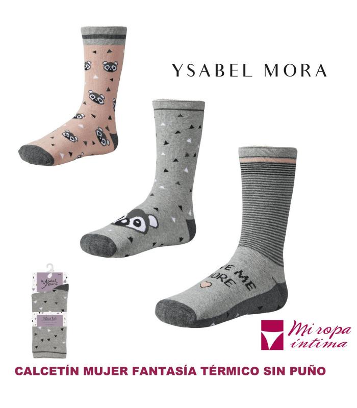 CALCETIN DE MUJER TERMICO DE FANTASIA DE YSABEL MORA REF: 12621