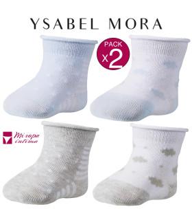 CALCETIN RECIÉN NACIDO DE FANTASÍA DE YSABEL MORA REF:62133