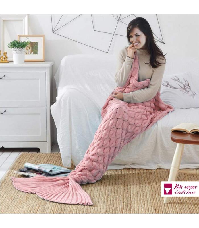 Manta Cola Sirena by Miracle Home