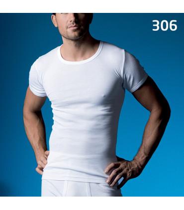 Abanderado hombre manga corta algodón ref. 306 Abanderado camiseta interior