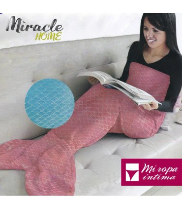MANTA COLA SIRENA de SEDALINA BY MIRACLE HOME