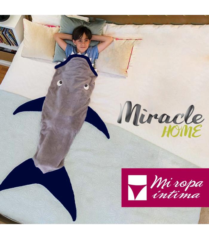 MANTA DE COLA INFANTIL BY MIRACLE HOME