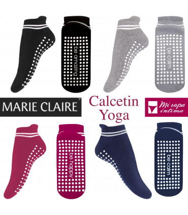 Calcetines invisibles ANTIDESLIZANTES mujer de MARIE CLAIRE 95204
