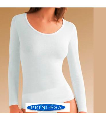 PRINCESA manga larga mujer Termica 4586 camiseta interior Termica