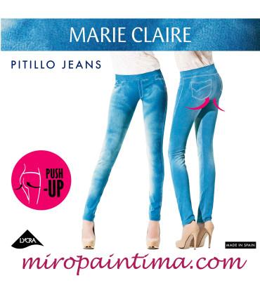 Legging Push Up JEANS Marie Claire 4549