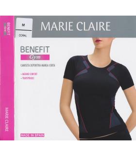 Camiseta deportiva manga corta marie claire 51350