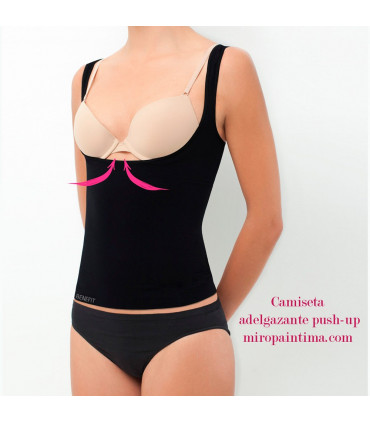 Camiseta adelgazante push-up 51342 Marie Claire camiseta interior