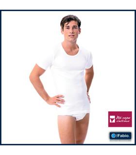 Camiseta interior hombre manga corta Fabio 8210